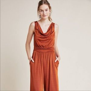 Maeve Enchantment Jumpsuit Rust Colored NWT
